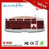 Alibaba Trade Assurance Supplier backlit qwerty keyboard ergonomic gaming keyboard