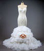 wedding dress HMY-D455 2015 Latest Design Top Quality China Factory Made Luxury Beaded Wedding Gown Wedding dresses