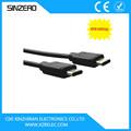 Plus récent 2015 câble usb 3.1 type c câble/l'arrivée de nouveaux 8000mm 3.1 usb type c de données/micro usb pour câble rca