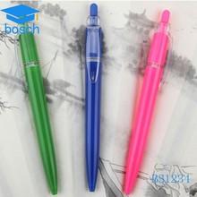 High Quality Printed Pen Ballpoint Plastic Aluminium Black