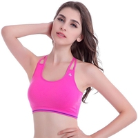 Breathable and Healthy Women Colorful Padded Sexy Sport Underwear