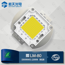 LM-80 Made in P.R.C Bridgelux Epistar Waterproof 50W CRI80 2900-3200K 5000-5500LM COB LED Module