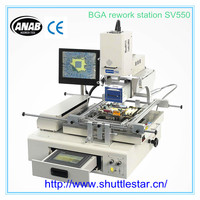 Professional SMT SMD BGA Rework Station with Split-Vision Alignment Auto Pick and Place for Motherboard Refurbishment