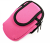 Zippered Double Pockets Sports Armband bag For GalaxyS4