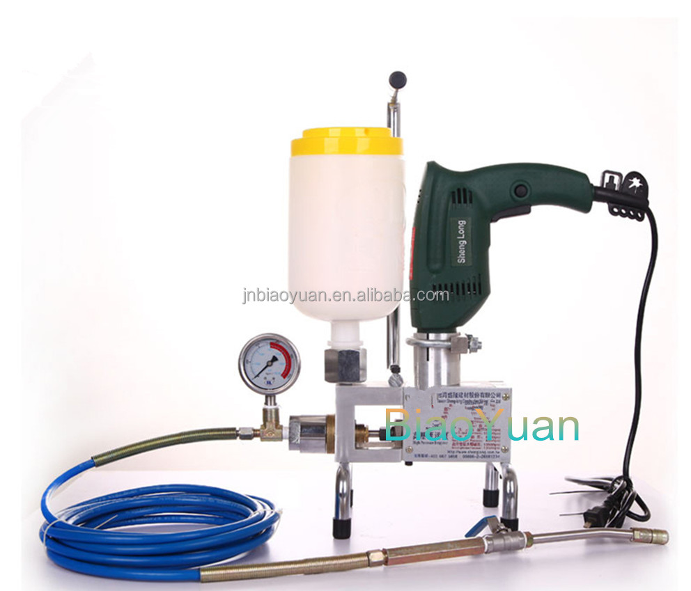 High Pressure Chemical Pump : Chemical injection pump epoxy resin filling high pressure