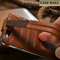 CaseMall New Arrival phone case for iPhone 6 ,real leather case for iPhone 6 ,For iPhone 6 case