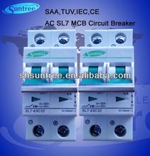 Solar Miniature Circuit Breaker L7 1P~4P up to 63A