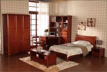 Simple Modern Wooden bed, Bedroom Set for Adult or Children bedroom