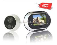 3.5 inch digital wireless peephole viewer security door camera for smart doorbell home system