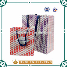 Customized hot sale paper bag carry paper bag printing