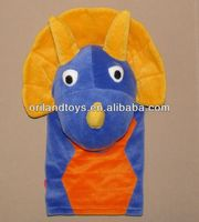 High Quality Custom dinosaur hand puppet toy