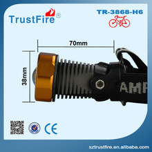 Innovative new products bicycle accessories 3868 front bike light,wireless turn signal aeronautic aluminum waterproof led lights