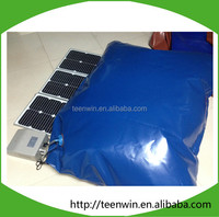 The best price biogas storage bag with solar pump