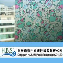 pvc decorative adhesive static window cling film