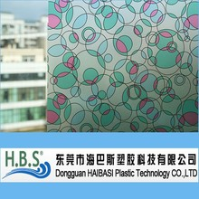 pvc decorative adhesive window cling film