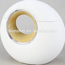 Mini portable LED light music player negative ion office air purifier