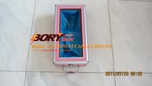 Portable light aluminum shoe cover case