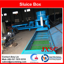 gold recovery equipment gold sluice box price