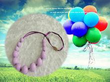 Silicone Teething Love Hope Faith Bead Necklace