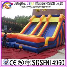 Backyard Used Inflatable Double Lane Slip Slide