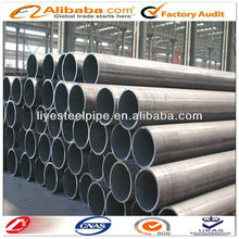 pipe used for low pressure liquid delivery, such as water, gas, and oil