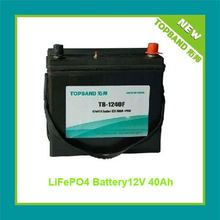 New 12V 40Ah Electric Vehicle Battery Pack with BMS+SLA Case