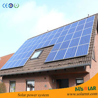 customized solar energy generation system with YingLi solar panel