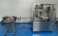 price toner powder filling capping machine
