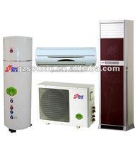 18000btu air source heat pump water heater+split wall mounted/floor standing/split concealed type air conditioner