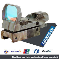 1x30 Illuminated top Red/Green Dot Sight Sight with Quick D for Picatinny rail mounting system