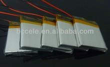 High discharge 3.7v 900mah li-ion battery
