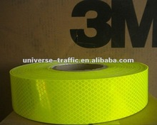 3M Diamond Grade Fluorescent Yellow Green Reflective Sheeting 4083