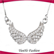 Silver Jewelry Morocco 2015 Angel Wing 925 sterling silver necklace