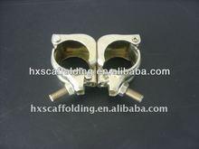 scaffolding pressed coupler EN74 gold color galvanized