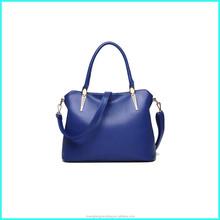 China manufacturer newest western fashion pu leather lady shoulder bag, fashion genuine leather handbag, stylish totebag