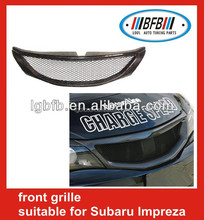 Carbon fiber car grill auto Mesh Grill fit for Impreza 10 front grille