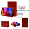 2015 New Smart Cover Case For ASUS Zenpad 8 case, For ASUS Zenpad 8 cover case, Red