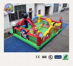 inflatable playground rentals/colorful inflatable children playground