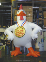 gaint inflatable 15 foot tall Chickens/Rooster for advertising