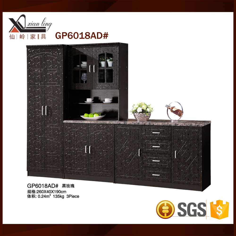Used pvc kitchen cabinets sets for sale buy pvc kitchen for Kitchen cabinet sets for sale