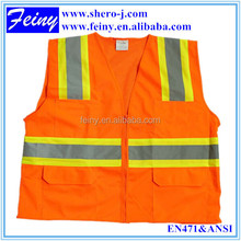 New design reflective vest 3m for traffic safety