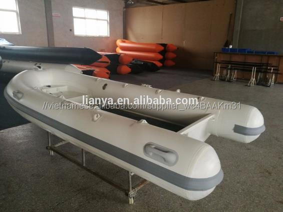 Liya prix rigide aluminium bateau gonflable 240-480cm