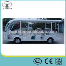 electric open top sightseeing bus