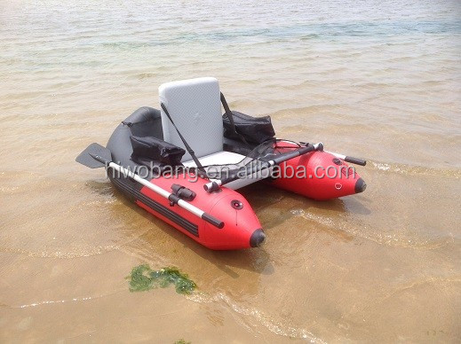 Individual inflatable belly boat fishing boat buy for Personal fishing boat