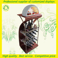 china metal garrafa de vinho rack display