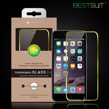 For cell phone accessory 9h high clear tempered glass screen protector for iphone 6 plus