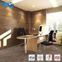 DBJX PP material, Non woven fabric Backing, Washable Carpet Tile
