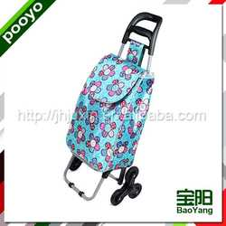 vegetable shopping trolley bag professional laminated pp woven shopping bags