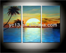 new arrival 100%handmade beautiful flower group oil painting