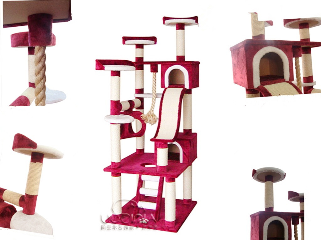 nouveau design de luxe produit chat chat en bois tour jouets pour animaux domestiques id de. Black Bedroom Furniture Sets. Home Design Ideas